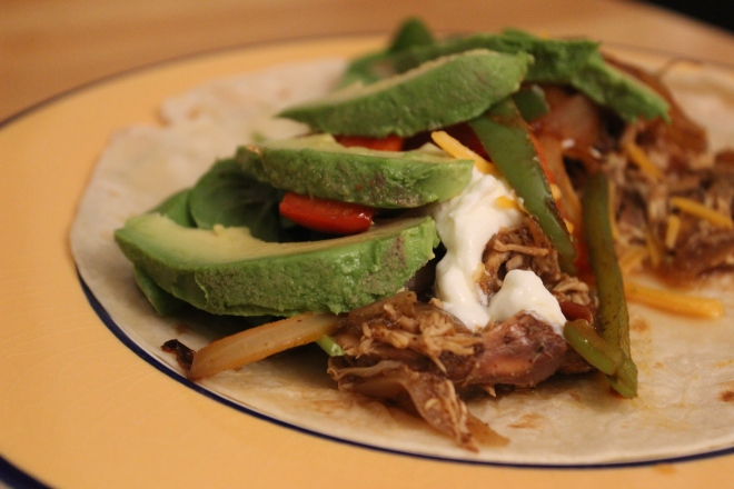 i like to overstuff the taco/burrito. it's more delicious that way.