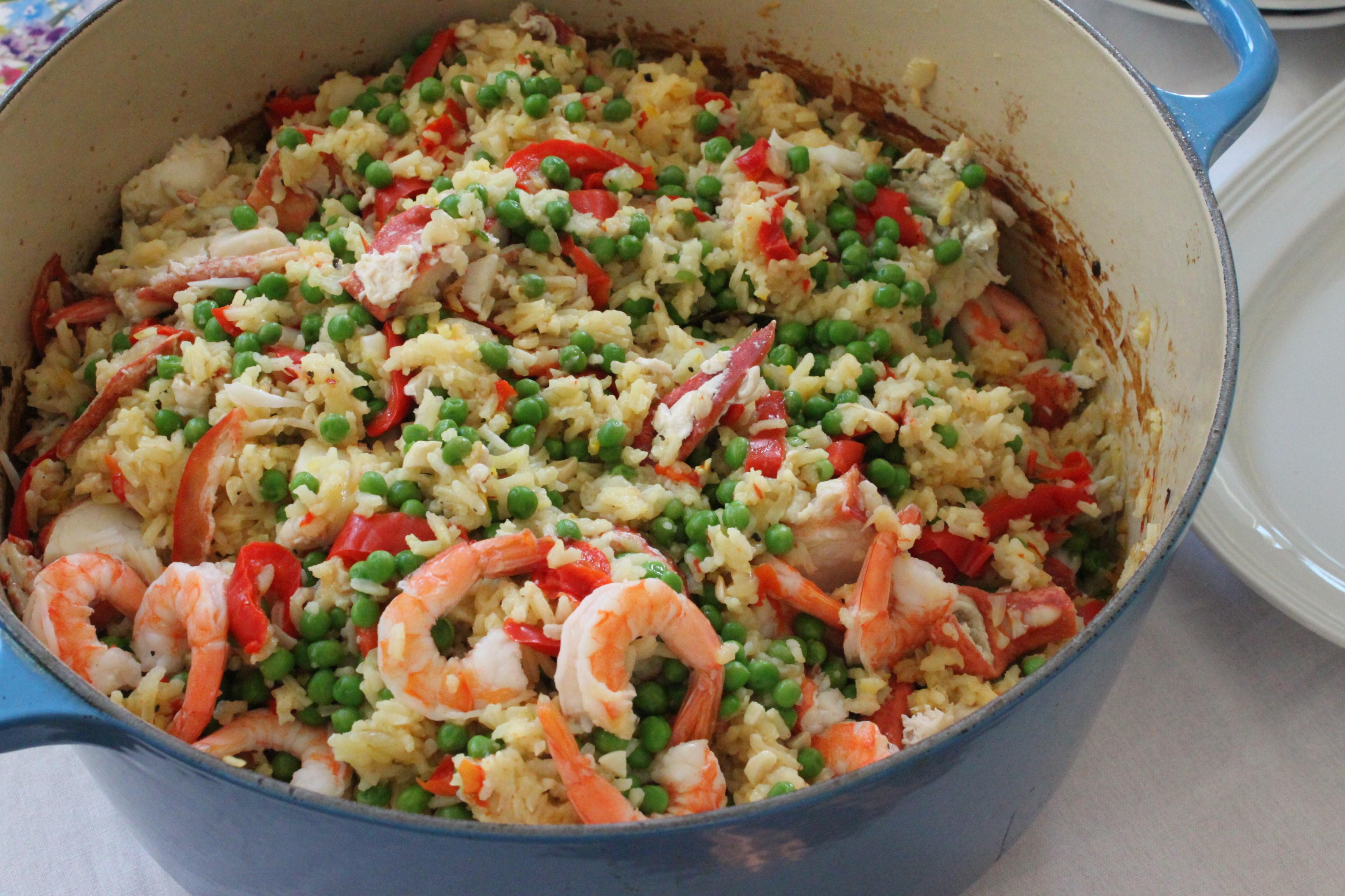 Easy lobster paella recipe barefoot contessa